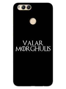 Valar Morghulis Honor 7X Mobile Cover Case