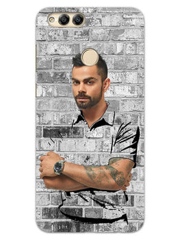 The Wall Of Kohli Honor 7X Mobile Cover Case