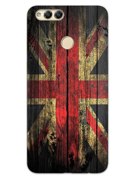 Union Jack Honor 7X Mobile Cover Case