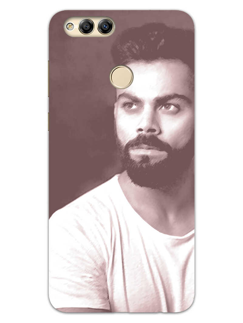 Kohli Retro Honor 7X Mobile Cover Case