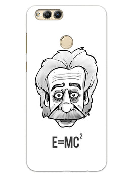 Einstein Equation Honor 7X Mobile Cover Case