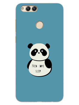 Sleepy Panda Honor 7X Mobile Cover Case