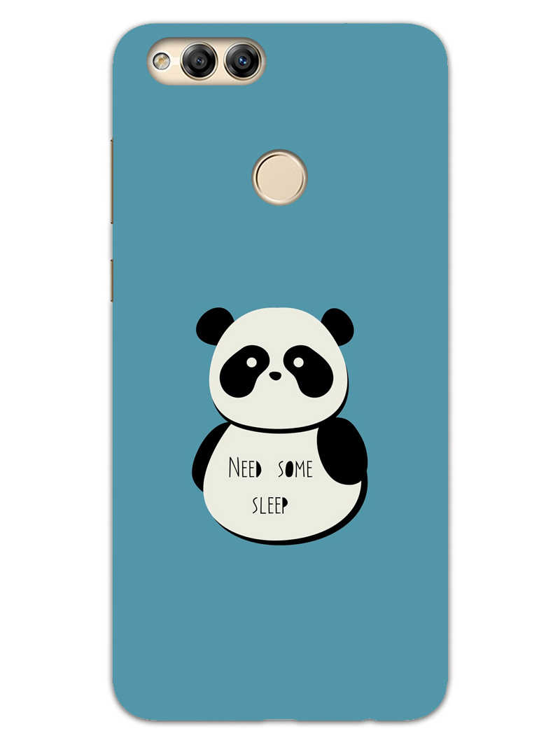 official photos 21464 14141 Sleepy Panda Honor 7X Mobile Cover Case