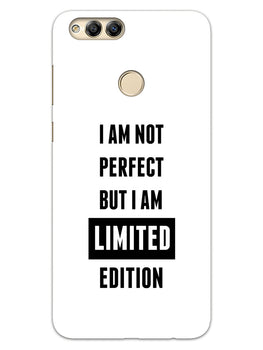 I Am Limited Edition Honor 7X Mobile Cover Case