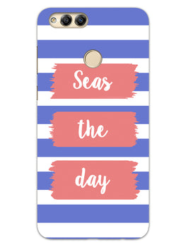 Seas The Day Honor 7X Mobile Cover Case