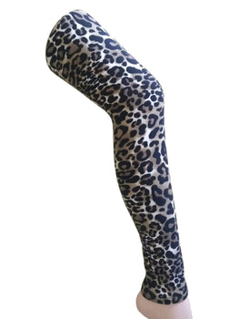 Premium Super Soft Stretchable Free Size Brown Leopard Printed Leggings for Women