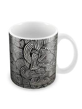 Batic Ethnic Pattern Ceramic Coffee Mug