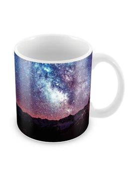 Starry Sky Night Ceramic Coffee Mug