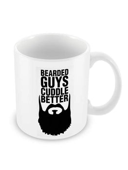 Beard Cuddle Ceramic Coffee Mug