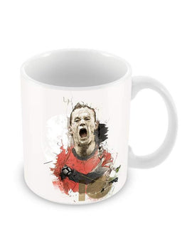 Rooney Exclaims Ceramic Coffee Mug