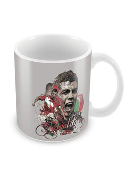 Ronaldo Exclaims Ceramic Coffee Mug