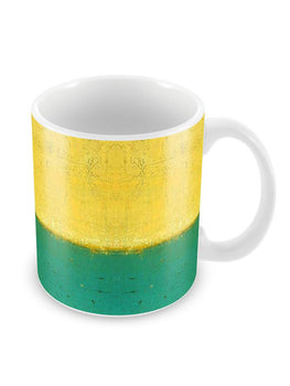 Dual Summer Colors Ceramic Coffee Mug