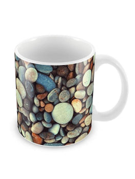 Beach Pebbles Ceramic Coffee Mug