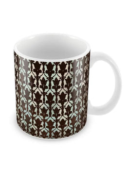 Sherlock Pattern Ceramic Coffee Mug