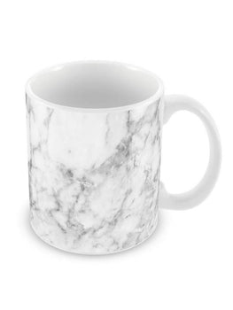 Chic White Marble Ceramic Coffee Mug