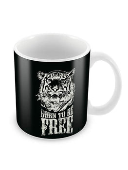 Born Free Ceramic Coffee Mug