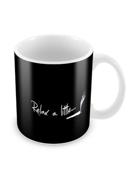 Relax a Lite Ceramic Coffee Mug