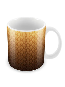 Pattern Motifs Background Ceramic Coffee Mug