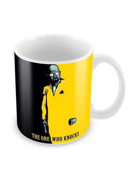One Who Knocks Ceramic Coffee Mug