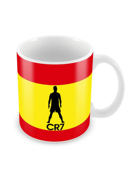 CR7 Silhouettes Ceramic Coffee Mug