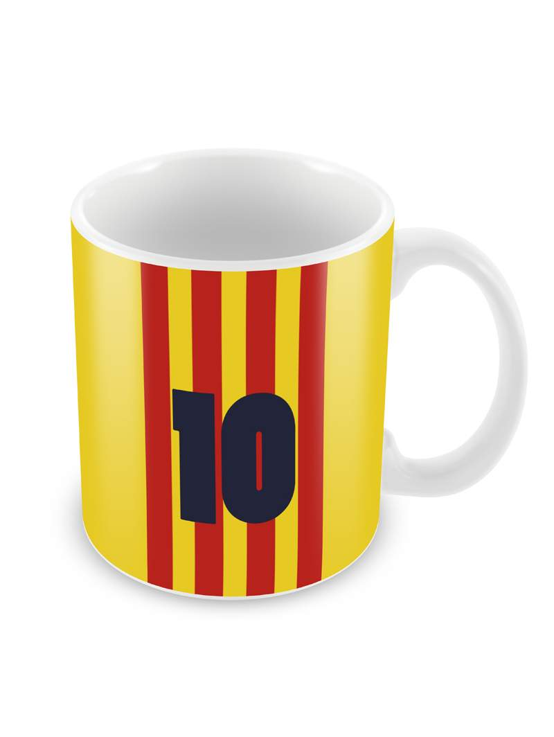Jersey No. 10 Messi Ceramic Coffee Mug