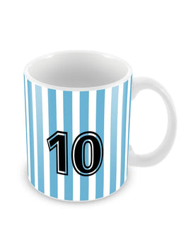 Messi Jersey No. 10 Ceramic Coffee Mug