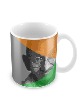 Mahatma Gandhi Ceramic Coffee Mug
