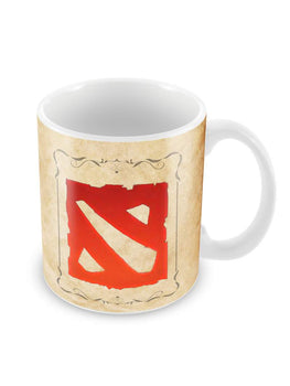 Dota Minimal Ceramic Coffee Mug