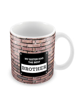 The Best Brother Ceramic Coffee Mug
