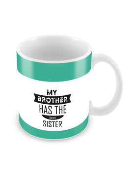The Best Sister Ceramic Coffee Mug