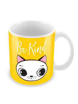 Be Kind Meow Ceramic Coffee Mug