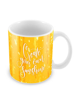 Create Own Sunshine Ceramic Coffee Mug