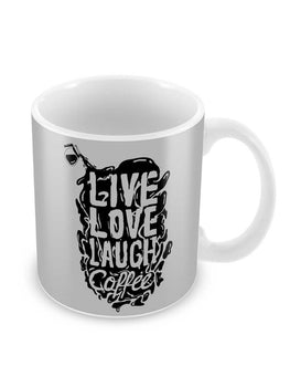 Live Love Laugh Coffee Ceramic Coffee Mug