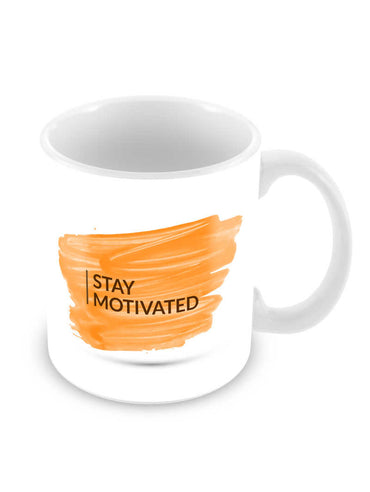 Stay Motivated Ceramic Coffee Mug