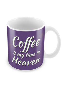 Feels Like Heaven Ceramic Coffee Mug