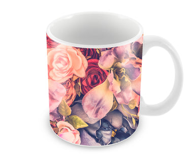 Blooming Roses So Floral Ceramic Coffee Mug