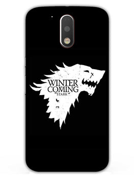 Winter Is Coming Moto G4 Plus Mobile Cover Case