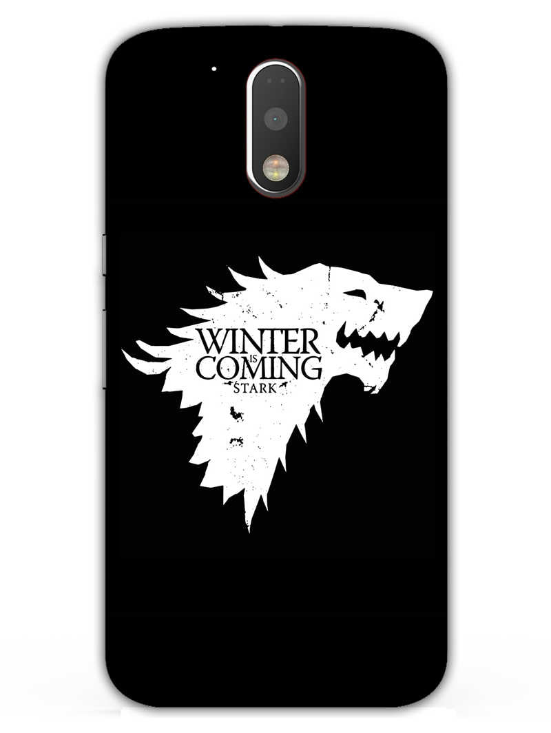 Winter Is Coming Moto G4 Plus Mobile Cover Case - MADANYU