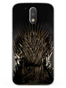 The Iron Throne Moto G4 Plus Mobile Cover Case