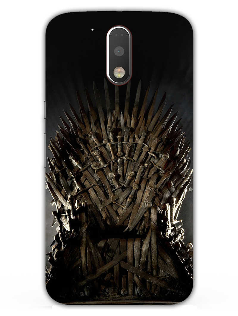 The Iron Throne Moto G4 Plus Mobile Cover Case - MADANYU