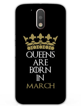 Queens March Moto G4 Plus Mobile Cover Case