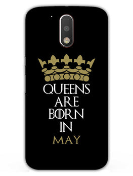 Queens May Moto G4 Plus Mobile Cover Case