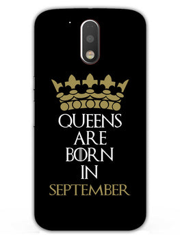 Queens September Moto G4 Plus Mobile Cover Case