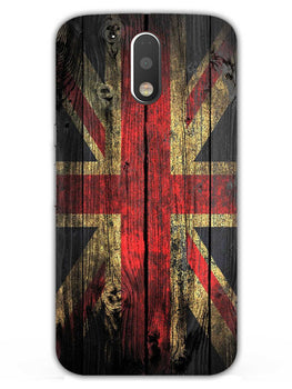 Union Jack Moto G4 Plus Mobile Cover Case