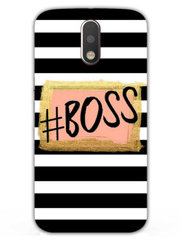The Boss Moto G4 Plus Mobile Cover Case