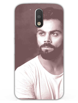 Kohli Retro Moto G4 Plus Mobile Cover Case