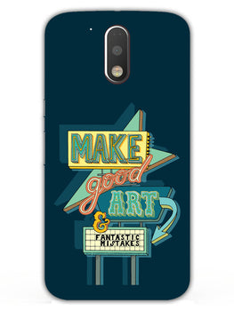Make Good Art Moto G4 Plus Mobile Cover Case