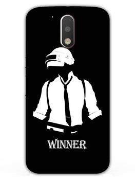 Winner Pub G Game Lover Moto G4 Plus Mobile Cover Case