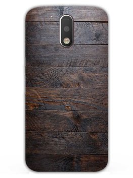 Wooden Wall Moto G4 Plus Mobile Cover Case