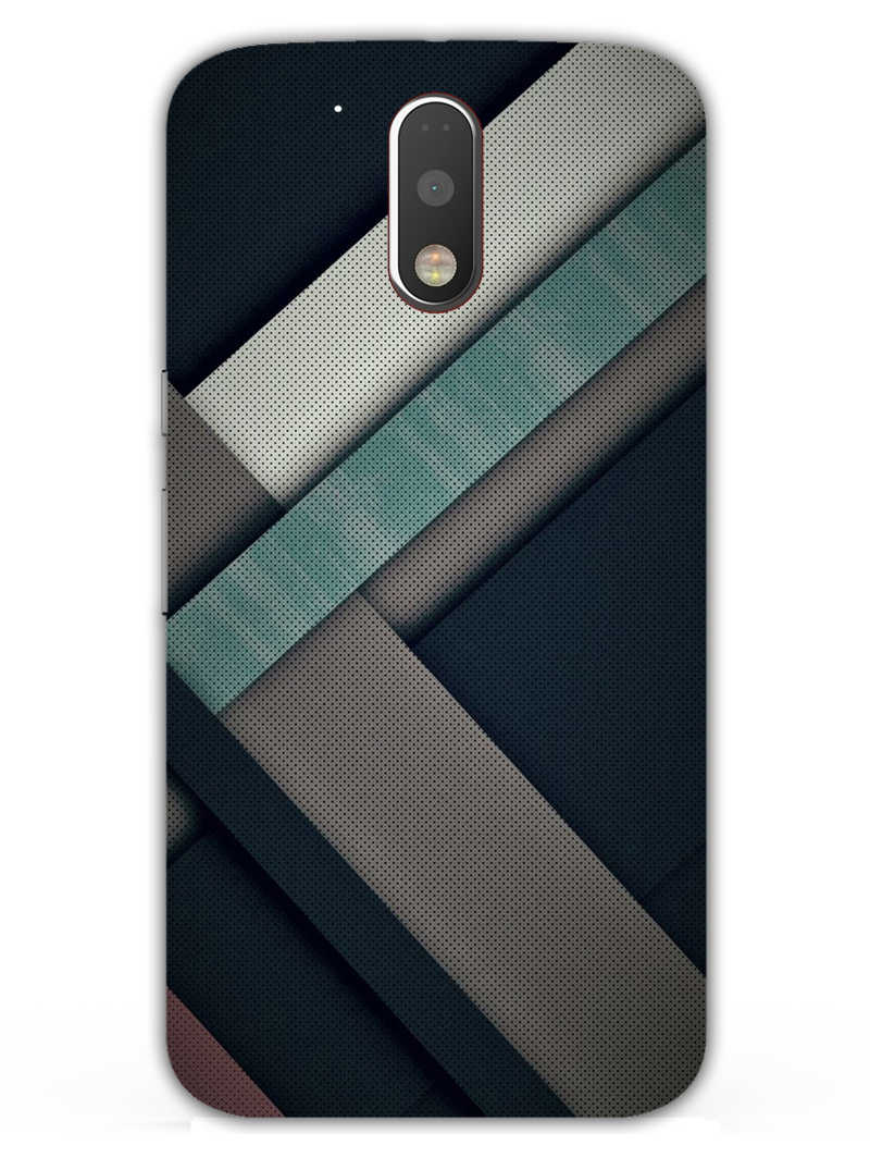 Industrial Pattern Moto G4  Mobile Cover Case - MADANYU